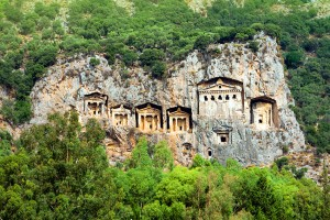 Kaunos Lycian Tombs, Turkey