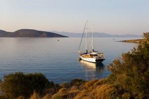 Morning on the Aegean Sea