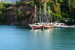 Gulets in Gokova Bay - Boat Holiday Turkey