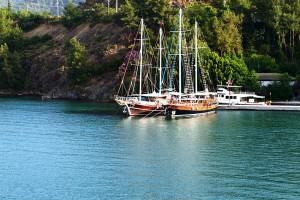 Gulets in Gokova Bay