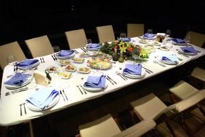 Sample Menu - Table
