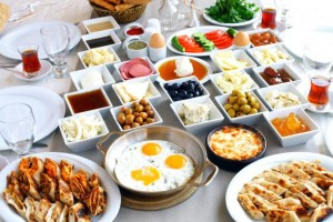 Sample Menu - Turkish Breakkie