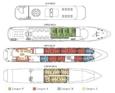 Harmony G – Deck Plan
