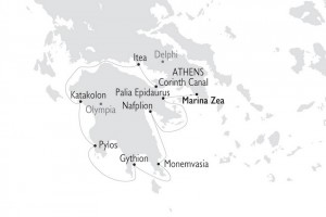 Antiquity to Byzantium - Map